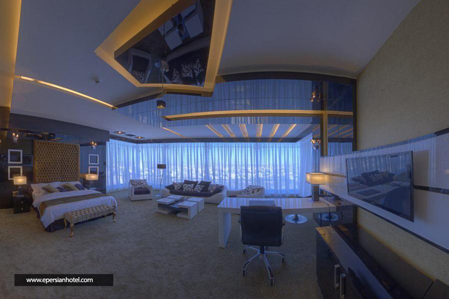 هتل مجلل درویشی مشهد اتاق پنت هاوس دابل اسپا