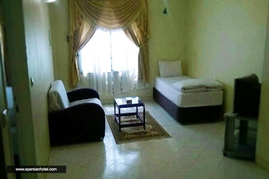 هتل دیار رضوی مشهد اتاق یک تخته