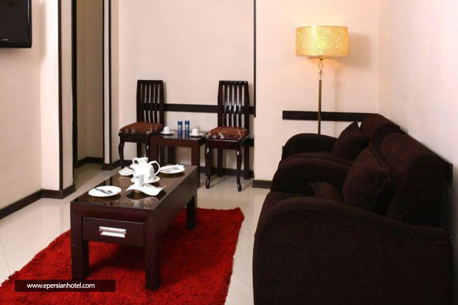 هتل آپارتمان دیدار مشهد نمای داخل اتاق
