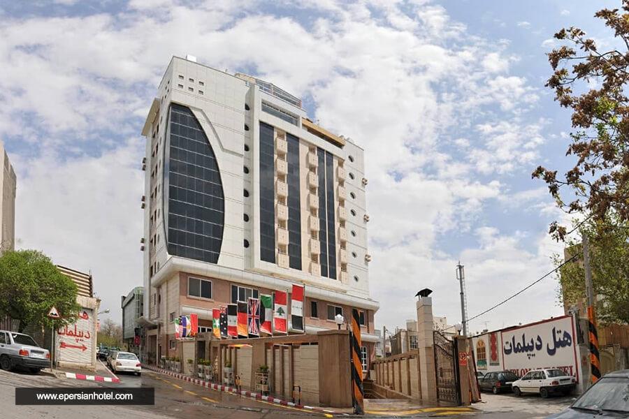 هتل دیپلمات مشهد نما