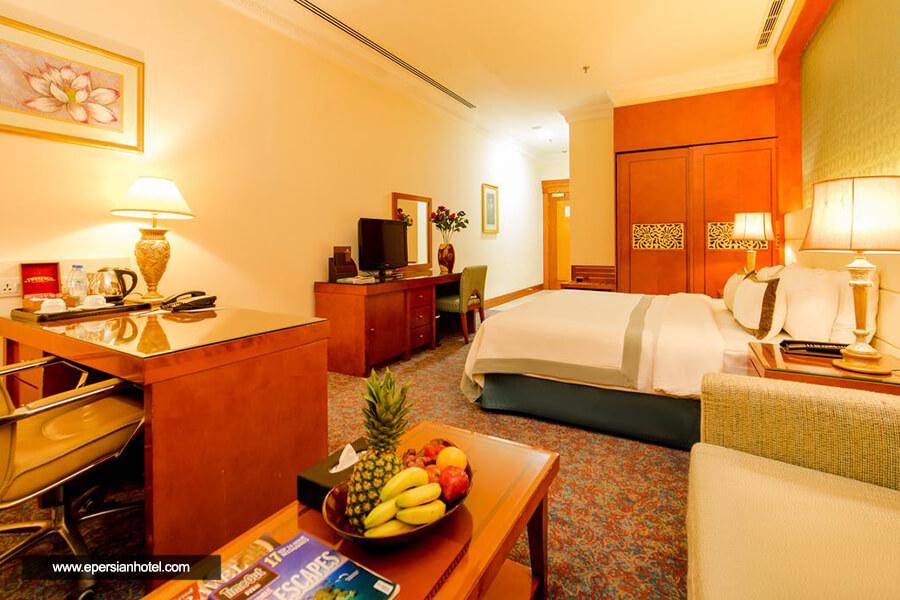هتل گرند اکسلسیور البرشا دبی اتاق دبل
