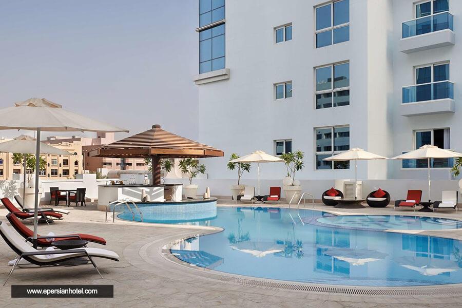 هتل حیات پلاس الریگا دبی استخر