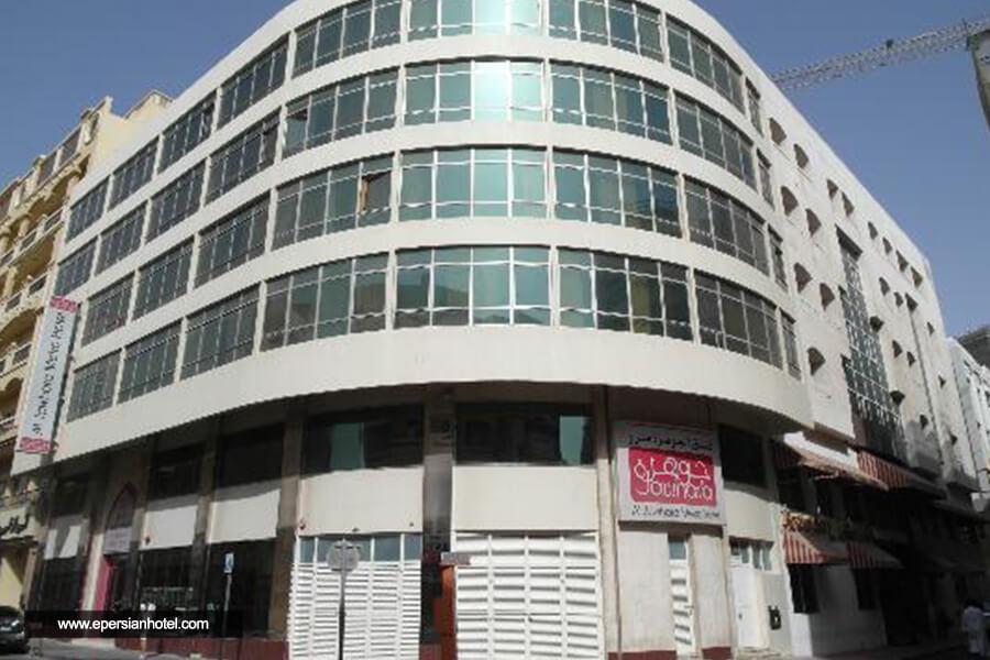 هتل الجوهره مترو دبی نما