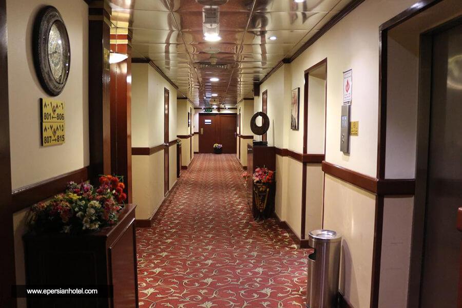 هتل الخلیج گرند دبی راهرو