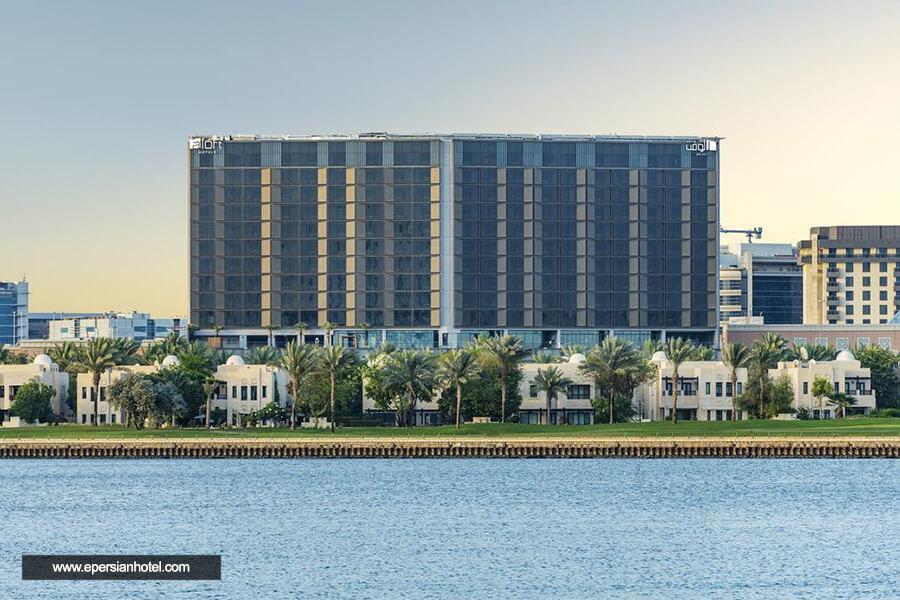 هتل آلوفت سیتی سنتر دیره دبی نما