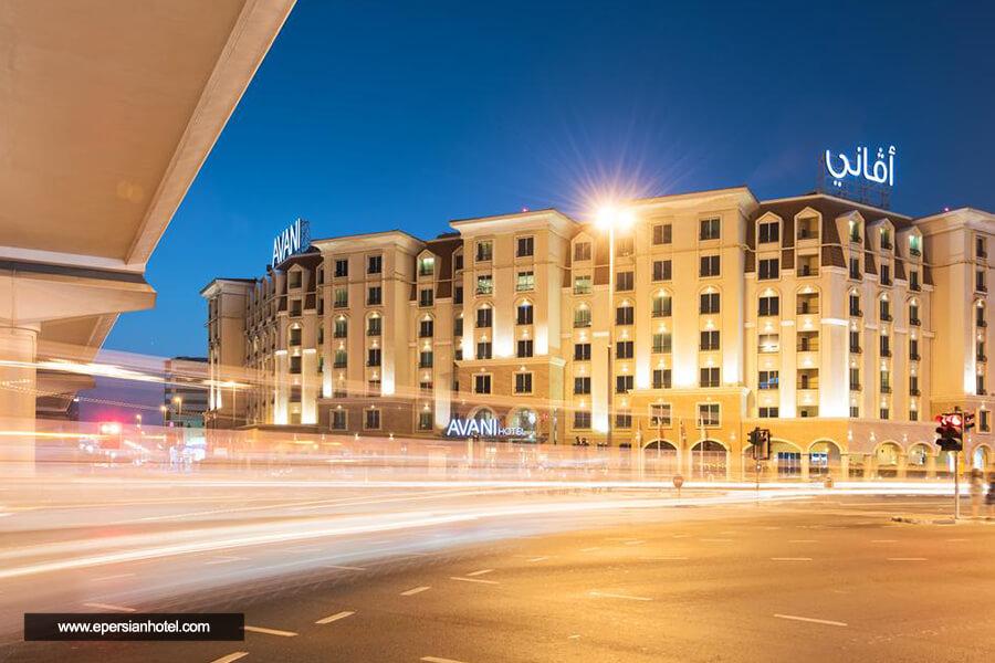 هتل آوانی دیره دبی نما