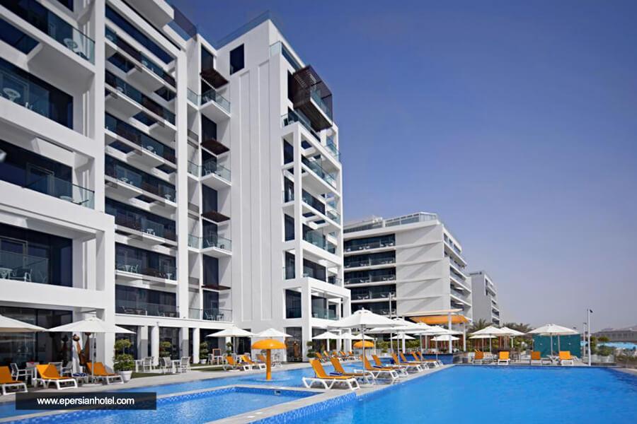 هتل سی سنترال ریزورت پالم دبی نما