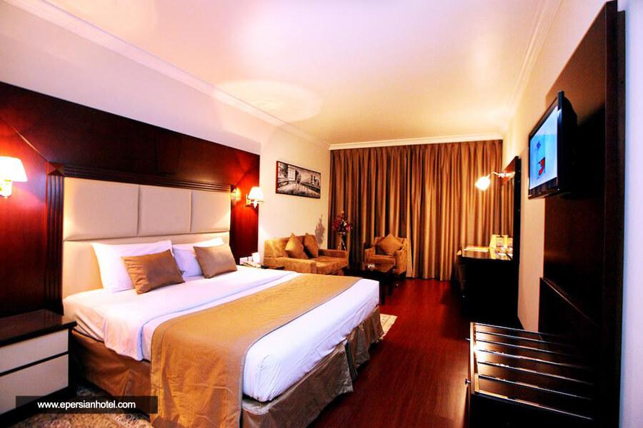 هتل سیتی ستار دبی اتاق دو تخته