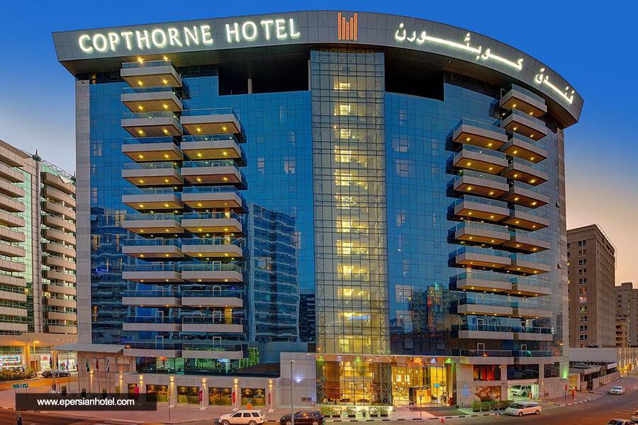 هتل کوپتورن دبی نما
