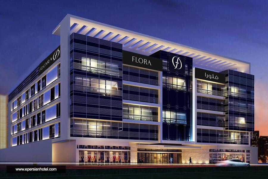 هتل فلورا این دبی نما