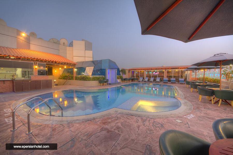 هتل فورچون گرند دبی استخر