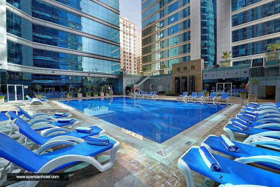 هتل قایا گرند دبی استخر