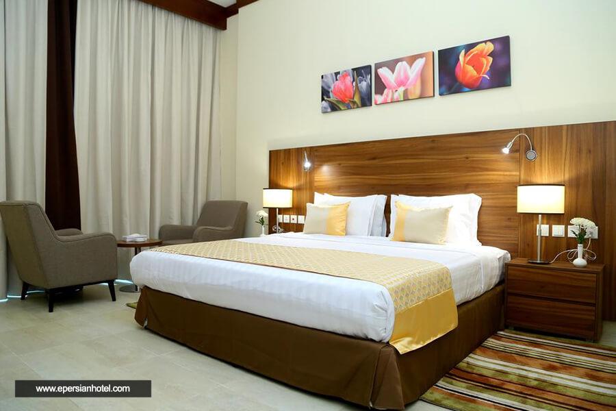 هتل گلدن تولیپ البرشا دبی اتاق دو تخته