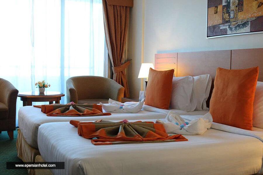 هتل گلدن تولیپ نیهال پالاس دبی اتاق دو تخته