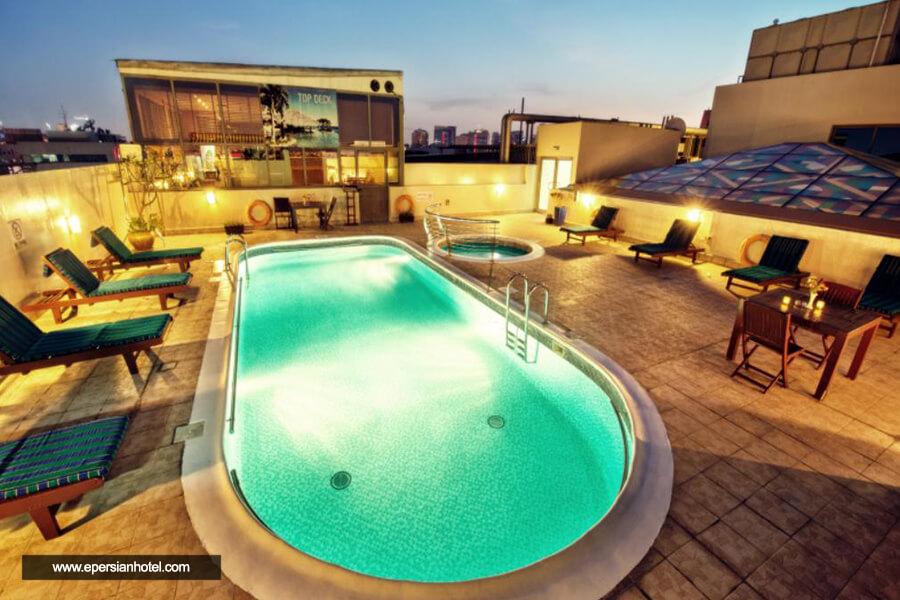هتل گرند سنترال دبی استخر
