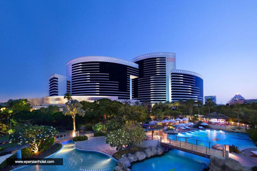 هتل گرند حیات دبی نما