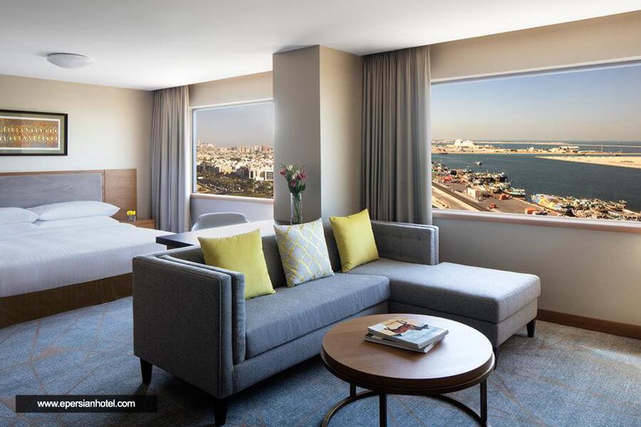 هتل حیات ریجنسی گالریا رزیدنس دبی اتاق دو تخته