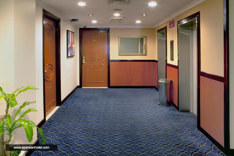 هتل لندمارک بنیاس دبی راهرو