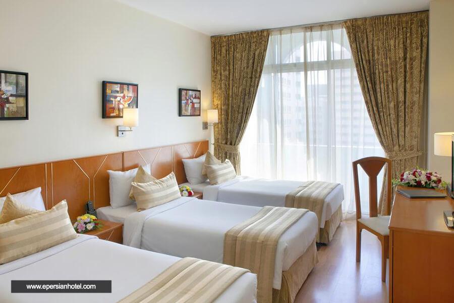 هتل لندمارک بنیاس دبی اتاق سه تخته