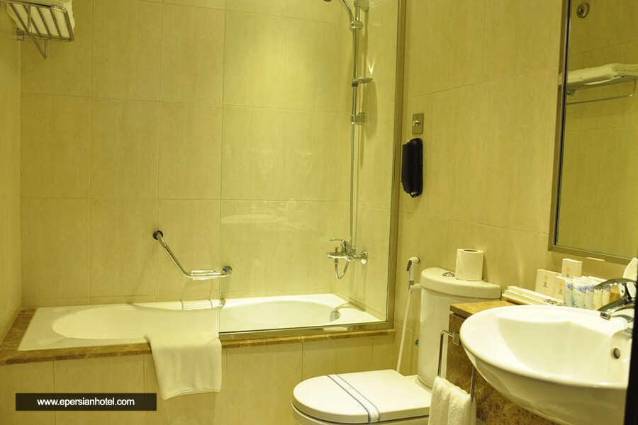 هتل آپارتمان لاوندر النهدا دبی حمام