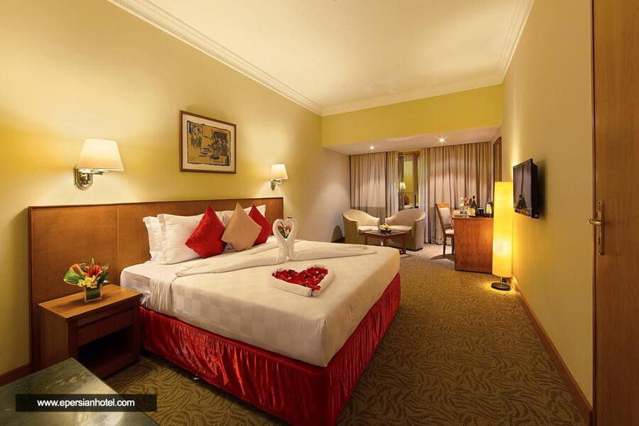 هتل لوتوس گرند دبی اتاق دو تخته