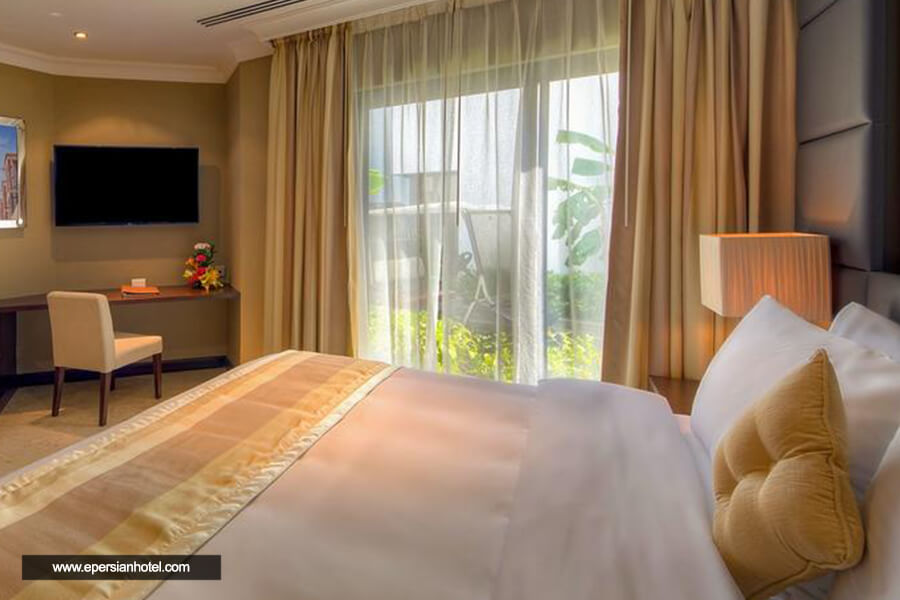 هتل مارین بیچ ریزورت اند اسپا دبی اتاق دوتخته
