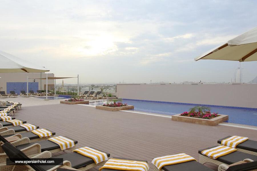 هتل متروپلیتن دبی حمام آفتاب