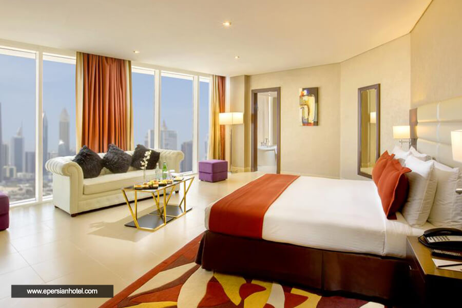 هتل میلینیوم سنترال داون تاون دبی اتاق دوتخته