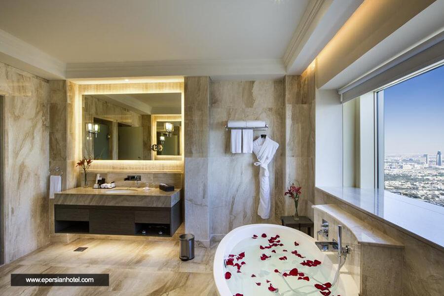 هتل میلینیوم پلازا دبی حمام