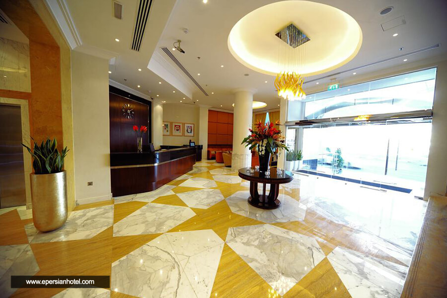 هتل موناکو دبی لابی