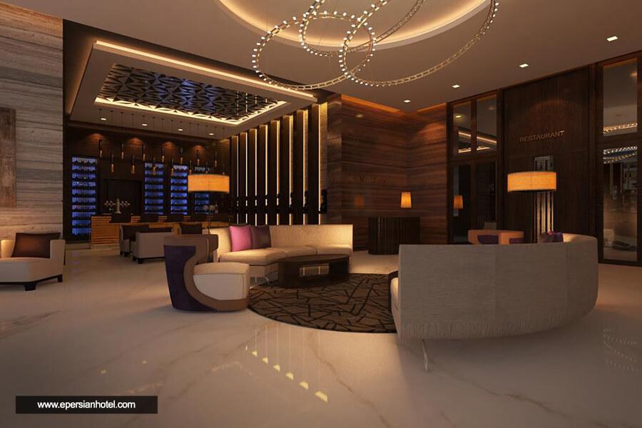 هتل مسکو دبی لابی
