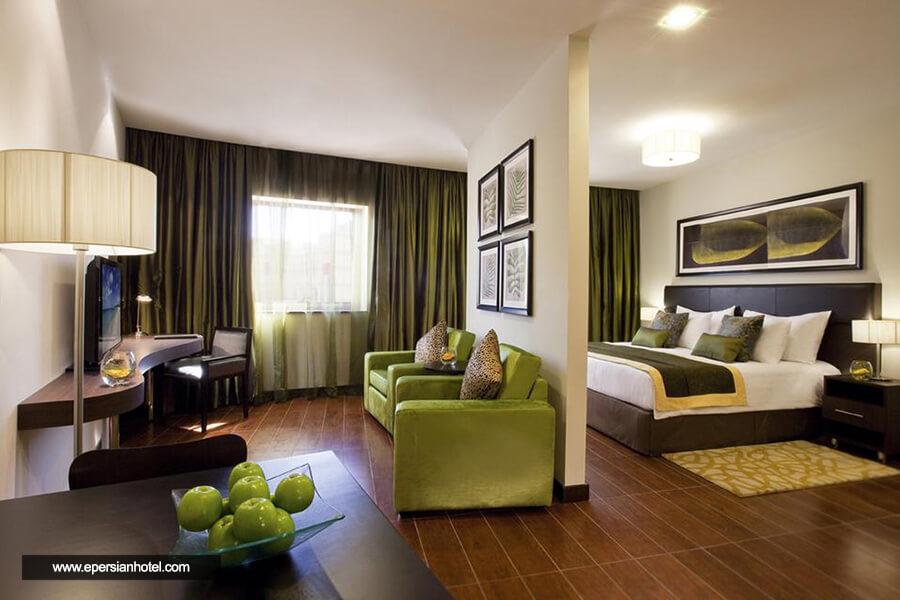 هتل آپارتمان موون پیک الممزر دبی اتاق دو تخته