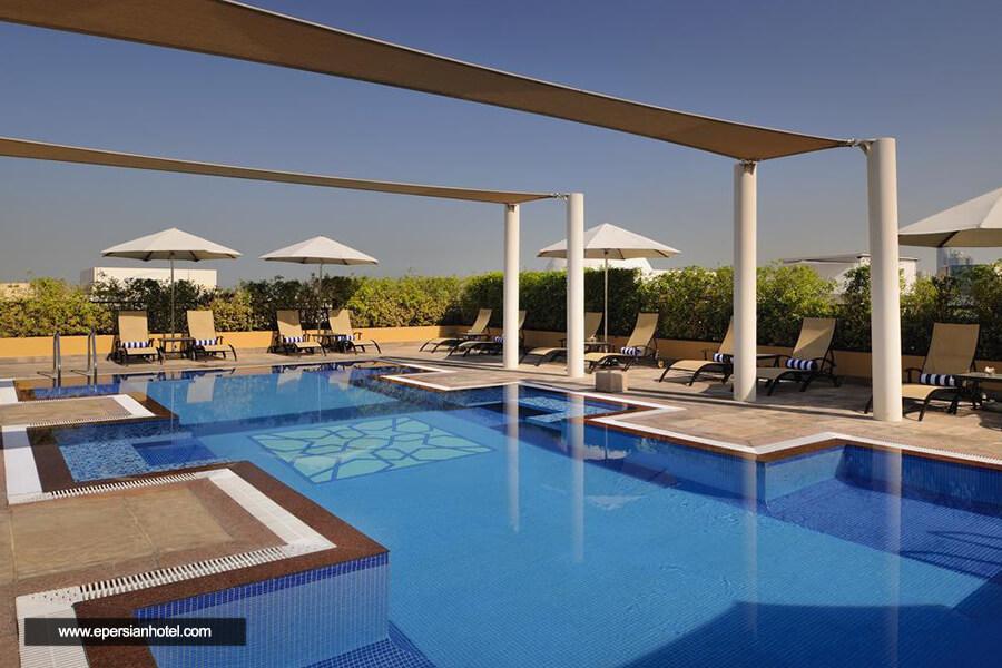هتل آپارتمان موون پیک الممزر دبی استخر