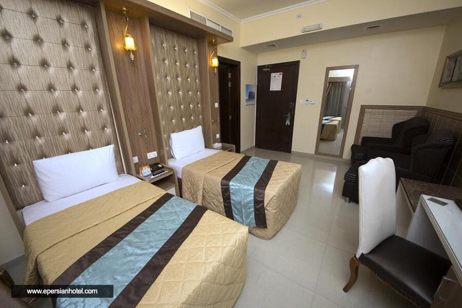 هتل نایف ویو دبی اتاق دوتخته