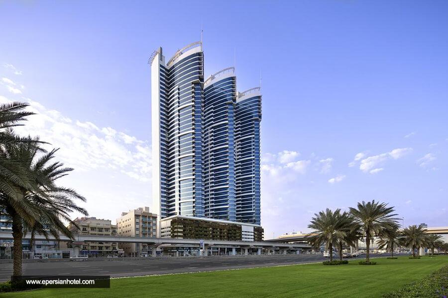 هتل نووتل البرشا دبی نما