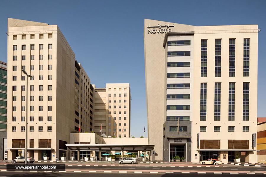 هتل نووتل دیره سیتی سنتر دبی نما