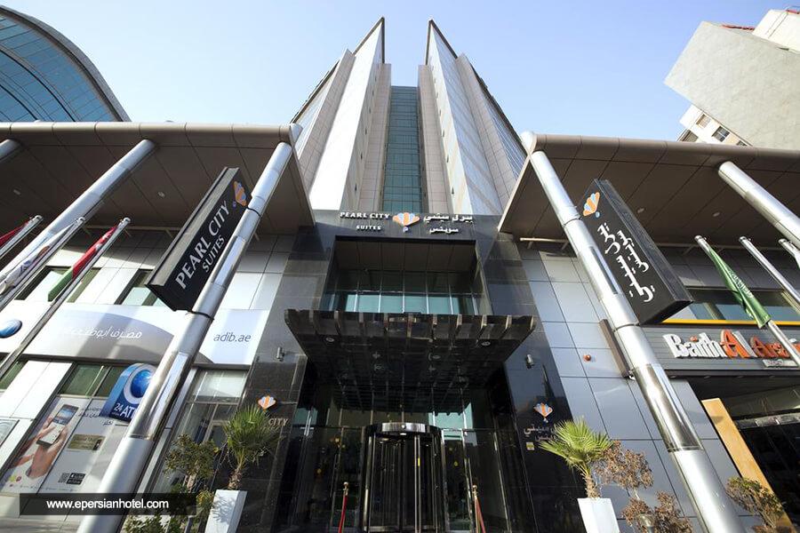 هتل پرل سیتی سوییتز دبی نما