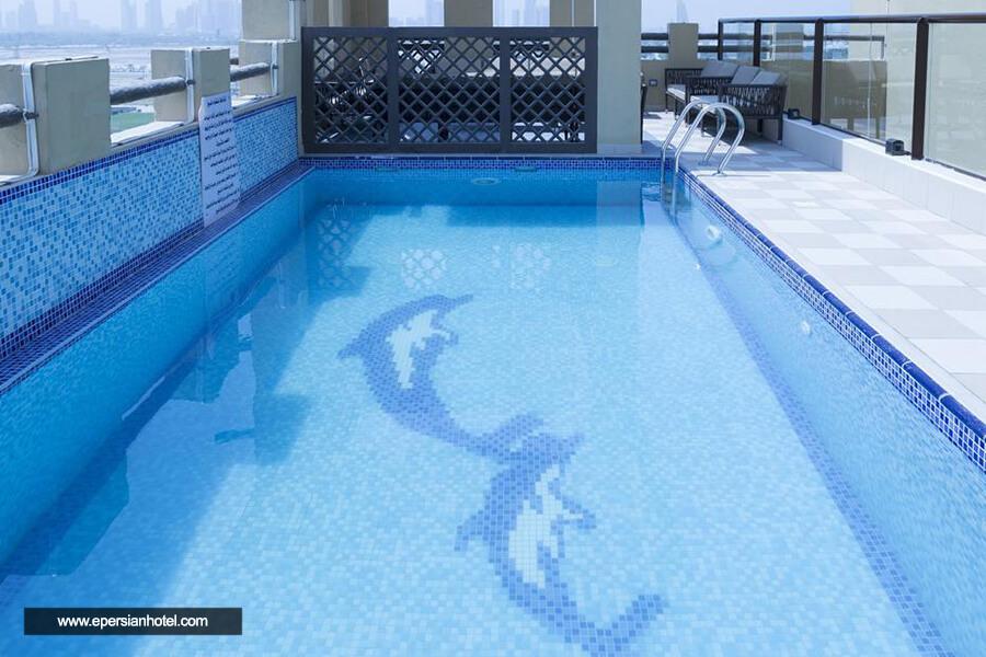 هتل ریفلکشنز دبی استخر