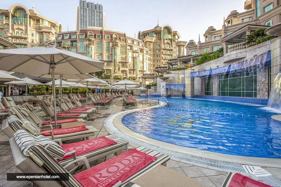 هتل رودا الموروج دبی استخر