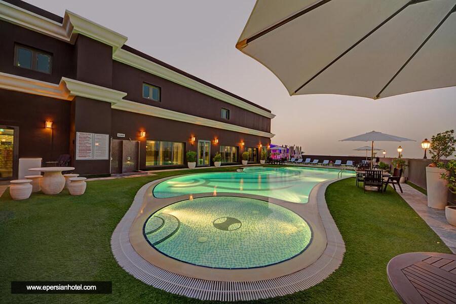 هتل رویال آسکوت دبی استخر