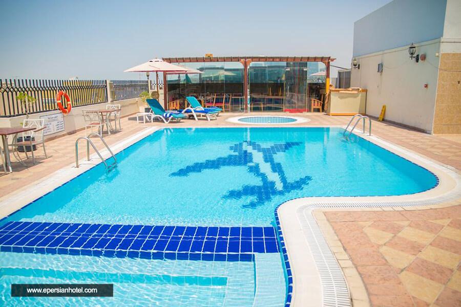 هتل سافرون بوتیک دبی استخر