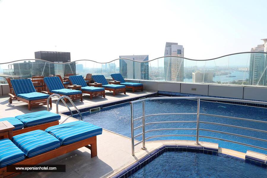هتل سامایا دیره دبی استخر