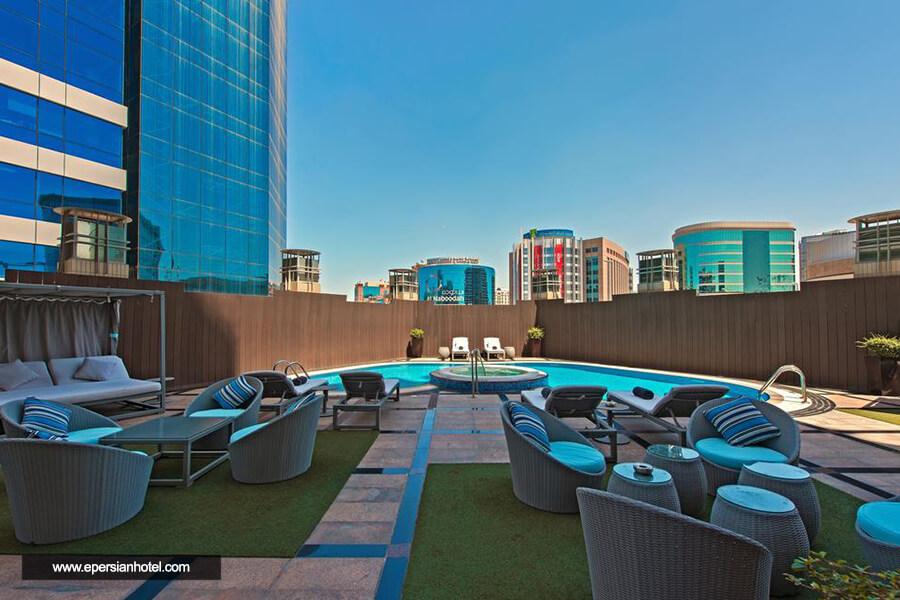 هتل آپارتمان سامور دبی استخر