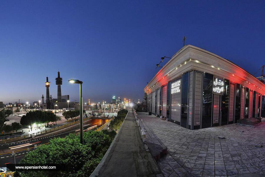 هتل ادریس مشهد نما