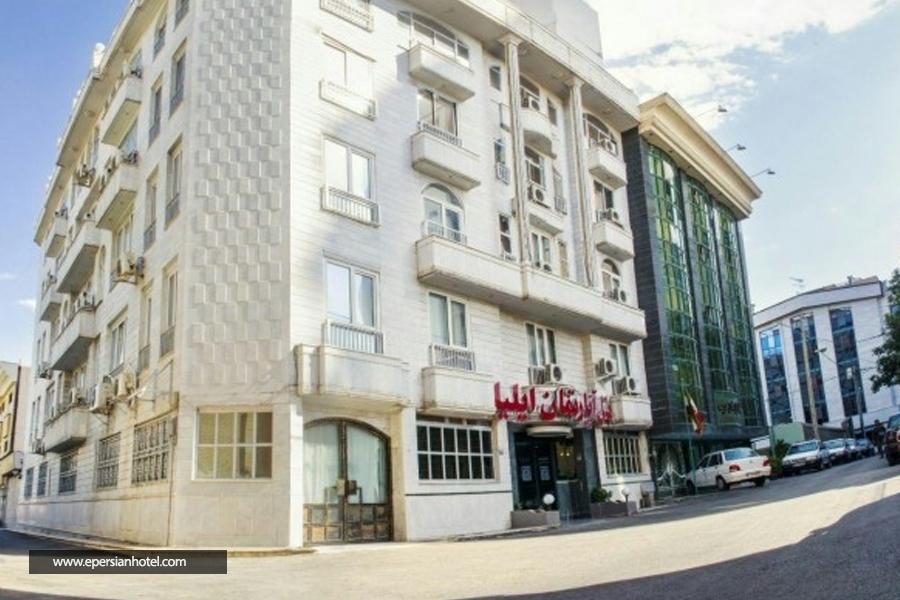 هتل ایلیا مشهد نما ساختمان