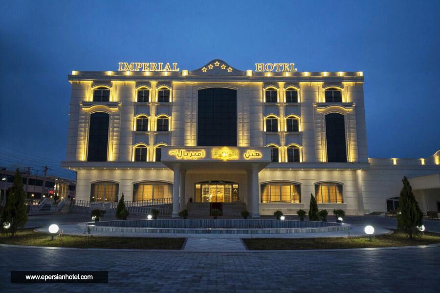 هتل امپریال ارس جلفا نما