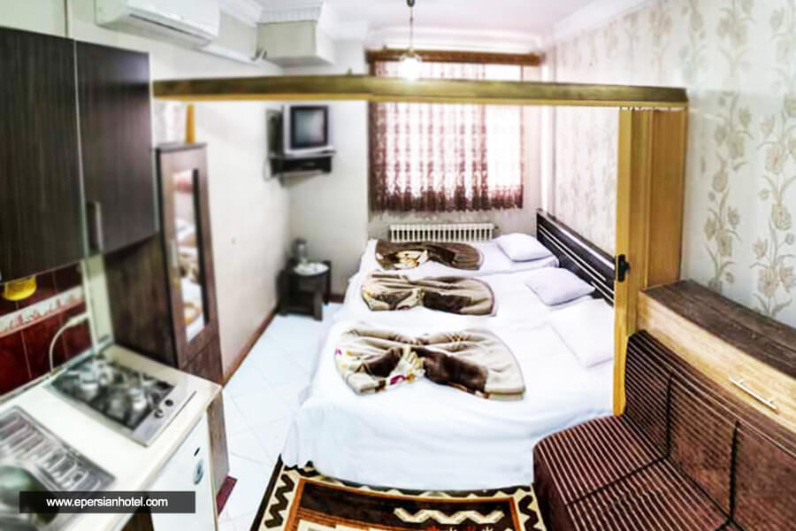 هتل آپارتمان الهیه مشهد اتاق تریپل