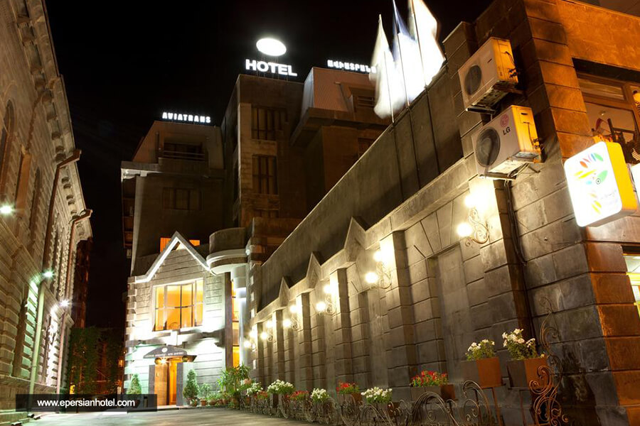 هتل آویاترانس ایروان نما