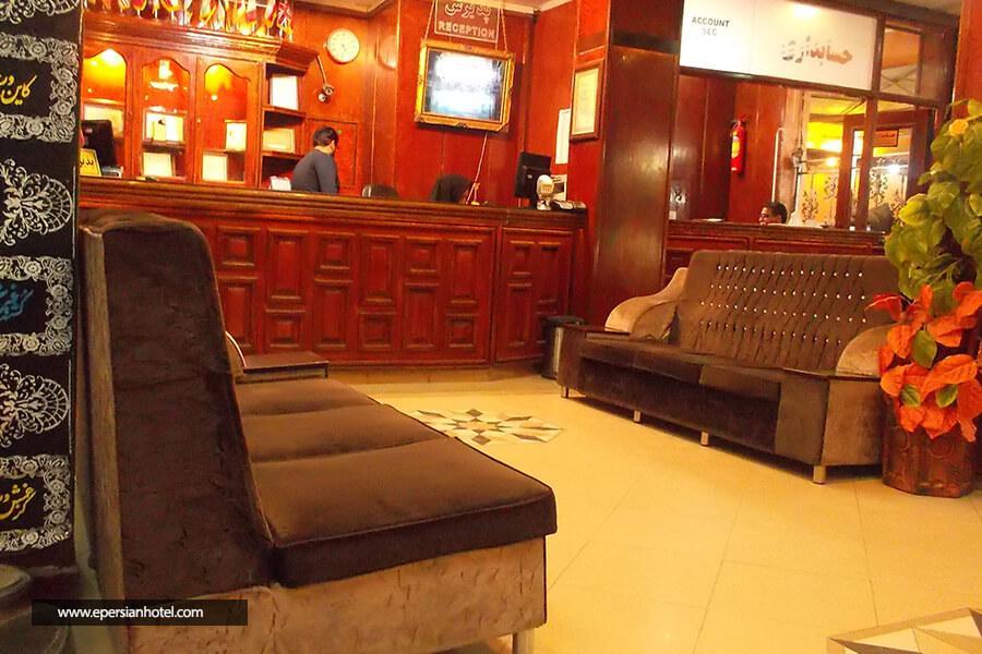 هتل استقلال مشهد لابی