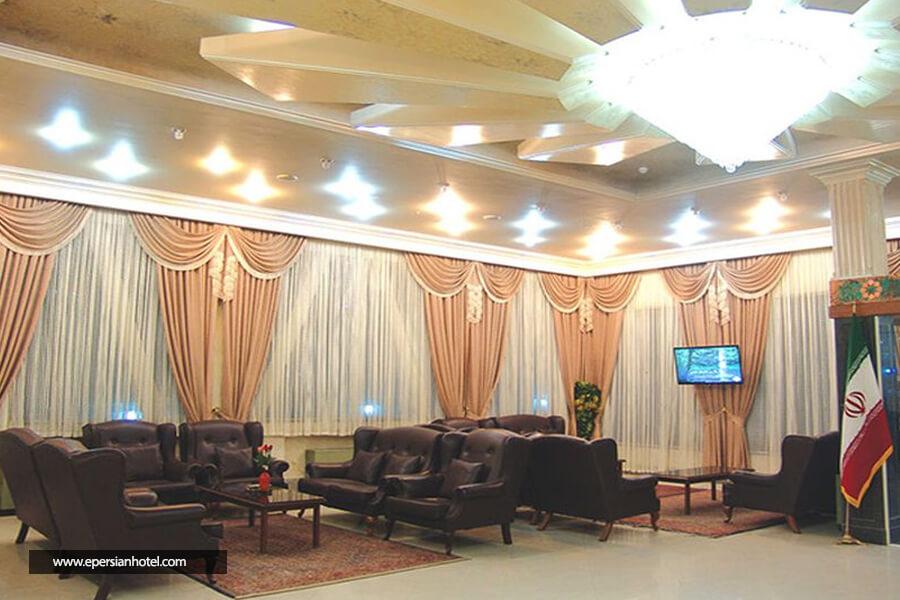 هتل آپارتمان فرات مشهد لابی